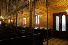 Coral Temple-binnenkant - zijgevel Royalty-vrije Stock Foto