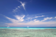 Coral Travel Destination Royalty Free Stock Photography