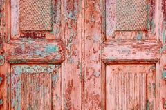 Corallo rosa verde bianco del fondo della carta da parati del bordo del colore luminoso grigio blu multicolore d'annata di legno  fotografie stock