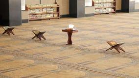 Coran avec des prières dans la mosquée