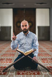 Coran de lecture musulman Image libre de droits