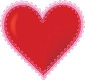 coração 3D Imagens de Stock Royalty Free