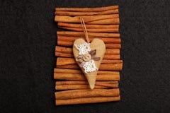 Coração como um presente Fotos de Stock
