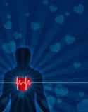 Coração, corpo & alma Fotografia de Stock Royalty Free