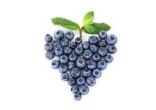 Coração da uva-do-monte Fotografia de Stock Royalty Free