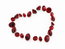 Coração do diamante Imagem de Stock Royalty Free