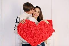 Coração grande Foto de Stock Royalty Free