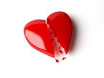 Coração quebrado Imagens de Stock Royalty Free