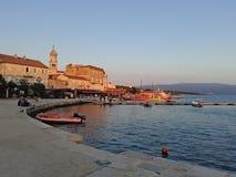 Coratia, mój najlepszy miasteczko z wiele rok historia fotografia royalty free