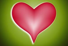 Corazón 101 del amor Imagen de archivo libre de regalías