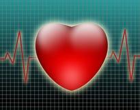 Corazón. ilustración del vector
