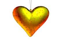 Corazón 3 de la Navidad ilustración del vector