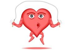 Corazón 3 sanos Fotografía de archivo libre de regalías