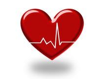 corazón 3d Imagenes de archivo