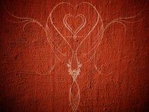 Corazón abstracto Imagen de archivo