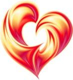 Corazón abstracto. Fotos de archivo