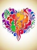 Corazón abstracto Fotos de archivo libres de regalías