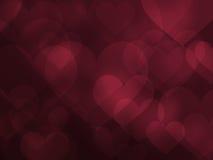 Corazón abstracto y movimiento propio del amor Foto de archivo