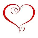 Corazón adornado 2 Foto de archivo libre de regalías