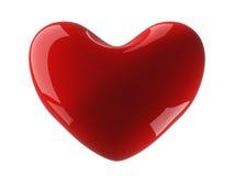 Corazón aislado en un fondo blanco. Foto de archivo libre de regalías