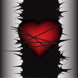 Corazón asociado Fotografía de archivo libre de regalías