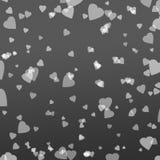 Corazón blanco en fondo de la pendiente Imágenes de archivo libres de regalías