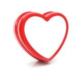 Corazón brillante Fotografía de archivo libre de regalías