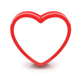 Corazón brillante Imagenes de archivo