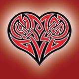 Corazón céltico Fotos de archivo libres de regalías
