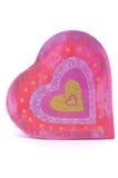 Corazón caido Imagen de archivo libre de regalías