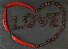 Corazón caliente Imagen de archivo