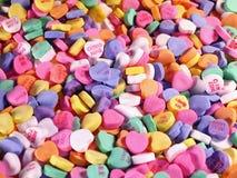 Corazón-Campo del caramelo Fotos de archivo