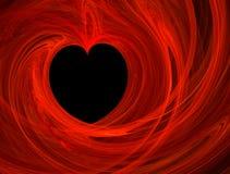 Corazón cariñoso Fotos de archivo