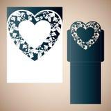 Corazón a cielo abierto stock de ilustración