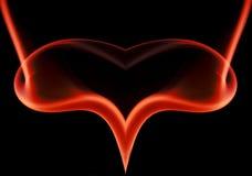 Corazón colgante Imagen de archivo libre de regalías