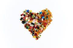 Corazón colorido Foto de archivo