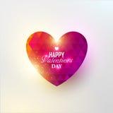 Corazón colorido del extracto del vector Imágenes de archivo libres de regalías