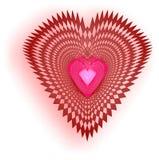 Corazón complejo Fotografía de archivo libre de regalías