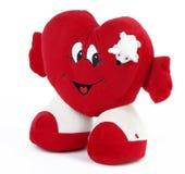 Corazón con el ratón Imágenes de archivo libres de regalías