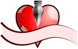 Corazón con la punta de flecha libre illustration