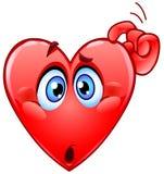 Corazón confuso Foto de archivo