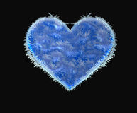 Corazón congelado fotografía de archivo libre de regalías