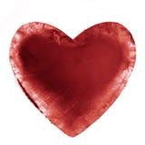 Corazón congelado Fotos de archivo libres de regalías