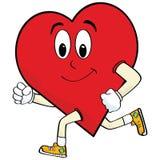 Corazón corriente Foto de archivo libre de regalías