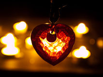 Corazón cristalino Imagenes de archivo