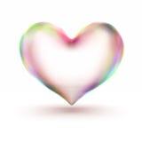 corazón 3d Imagen de archivo