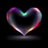corazón 3d Fotografía de archivo libre de regalías