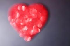 Corazón de Bokeh Foto de archivo
