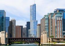 Corazón de Chicago foto de archivo
