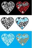 Corazón de ciclo Foto de archivo